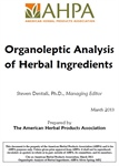 Organoleptic Analysis of Herbal Ingredients