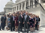 More than 30 AHPA members and staff participate in the 2019 Day on the Hill