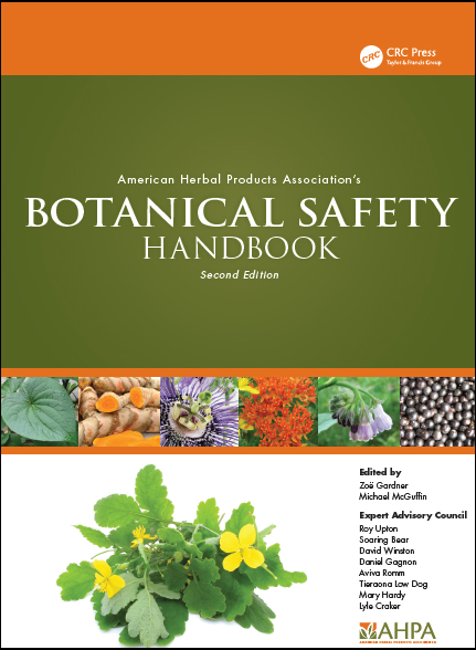 Online AHPA Botanical Safety Handbook